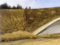 erosione scarpete in asciutto ingegneria civile consulenza tecnologica www.ntanet.it