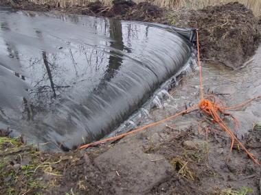 esempio di disidratazione fanghi (dewatering) provenienti da attività agricole