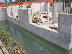 impermeabilizzazione strutturale + vasca bianca ingegneria edile consulenza tecnologica www.ntanet.it
