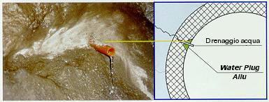 impermeabilizzazione di canalizzazione, serbatoi e manufatti in cls anche per acqua potabile col sistema penetron